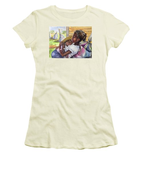 Break Time Women's T-Shirt (Athletic Fit)