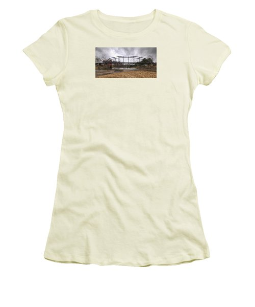 Bridge At The Mill Women's T-Shirt (Athletic Fit)