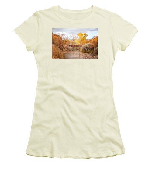 Bridge In Teasdale Women's T-Shirt (Athletic Fit)