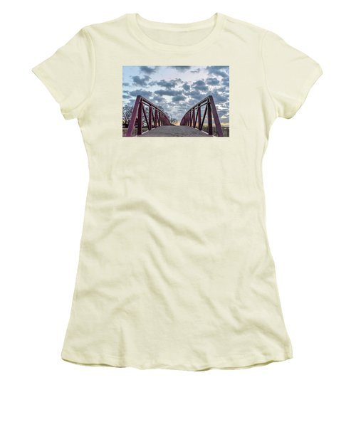 Bridge To The Clouds Women's T-Shirt (Athletic Fit)