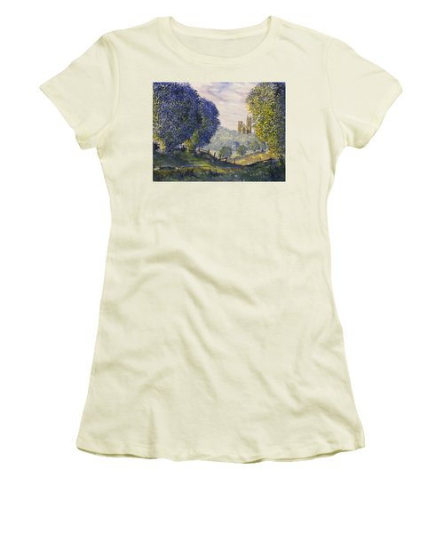 Bridlington Priory From Woldgate Women's T-Shirt (Athletic Fit)