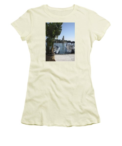 Brindisi By The Sea In May Women's T-Shirt (Athletic Fit)