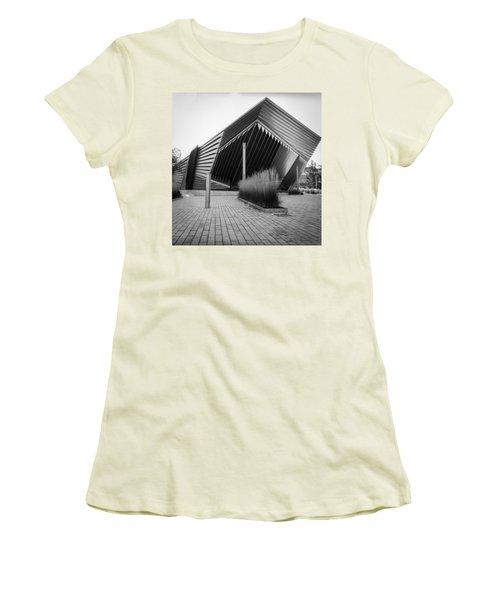 Broad Art Museum Women's T-Shirt (Junior Cut) by Larry Carr