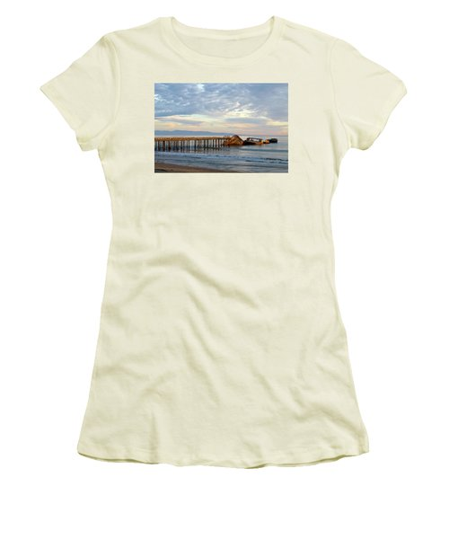 Broken Boat, Ss Palo Alto Women's T-Shirt (Athletic Fit)