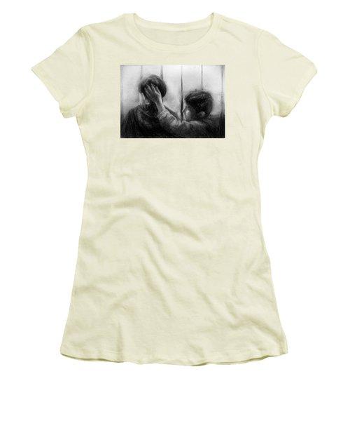 Brotherhood Women's T-Shirt (Junior Cut) by Celso Bressan
