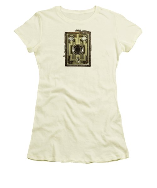 Brownie Six-20 Front Women's T-Shirt (Junior Cut) by YoPedro