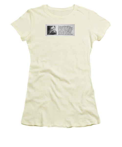 Bruce Mclaren Women's T-Shirt (Athletic Fit)