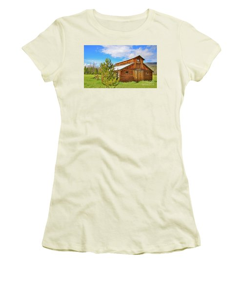 Buckaroo Barn 2 Women's T-Shirt (Athletic Fit)
