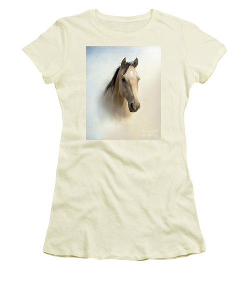 Buckskin Beauty Women's T-Shirt (Athletic Fit)
