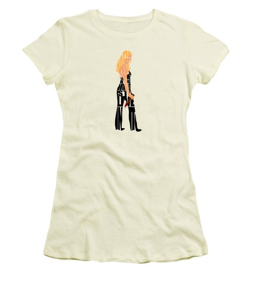 Buffy The Vampire Slayer Women's T-Shirt (Junior Cut) by Ayse Deniz