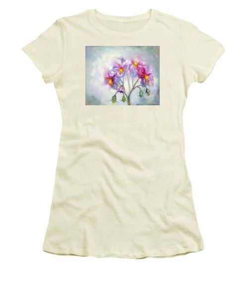 Buried Treasure Women's T-Shirt (Athletic Fit)