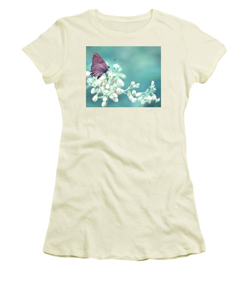 Buterfly Dreamin' Women's T-Shirt (Junior Cut) by Mark Fuller