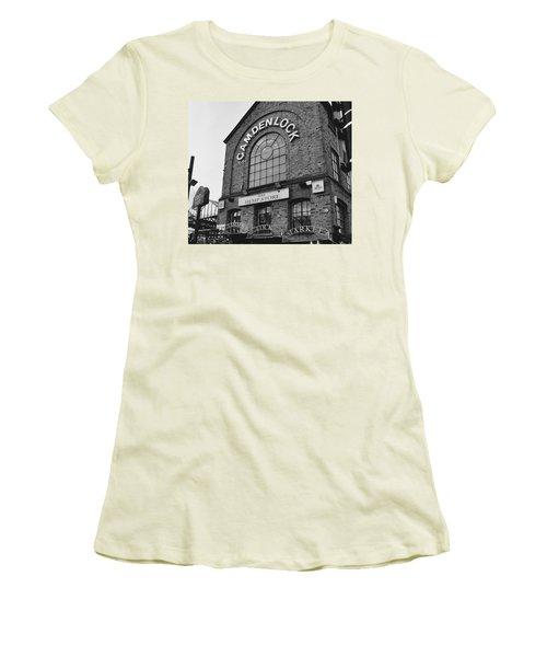 Bw Series Camden Lock Market Women's T-Shirt (Athletic Fit)