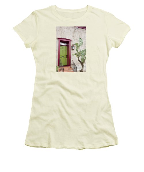 Cactus And Doorway Women's T-Shirt (Athletic Fit)
