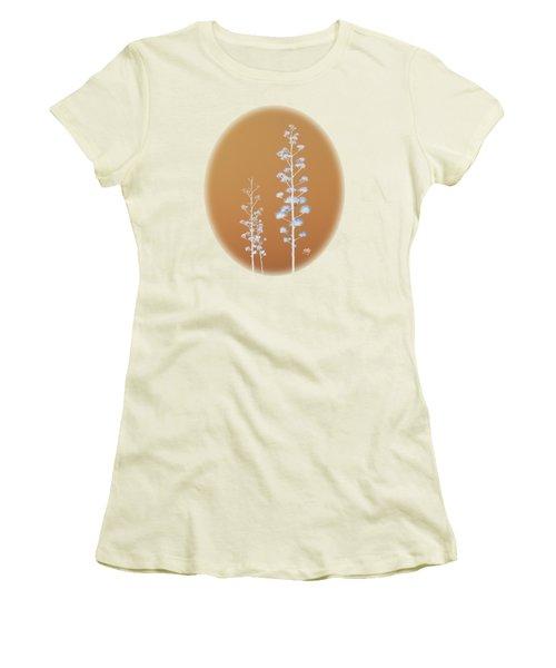 Cactus Architectre Women's T-Shirt (Junior Cut) by Linda Hollis