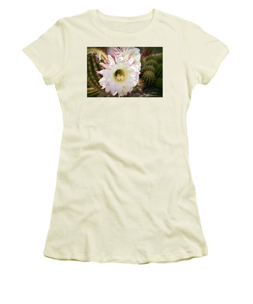 Cactus Bloom 2 Women's T-Shirt (Athletic Fit)