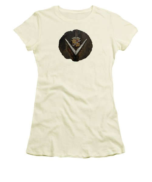 Caddy Emblem Women's T-Shirt (Athletic Fit)