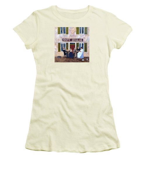 Cafe Boulud Women's T-Shirt (Junior Cut)