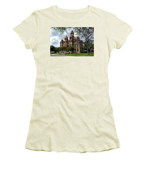 Caldwell County Courthouse Women's T-Shirt (Junior Cut) by Ricardo J Ruiz de Porras