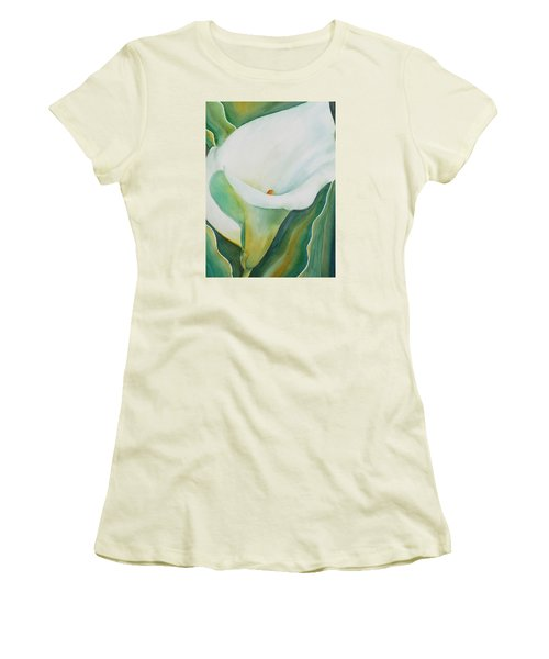 Calla Lily Women's T-Shirt (Athletic Fit)