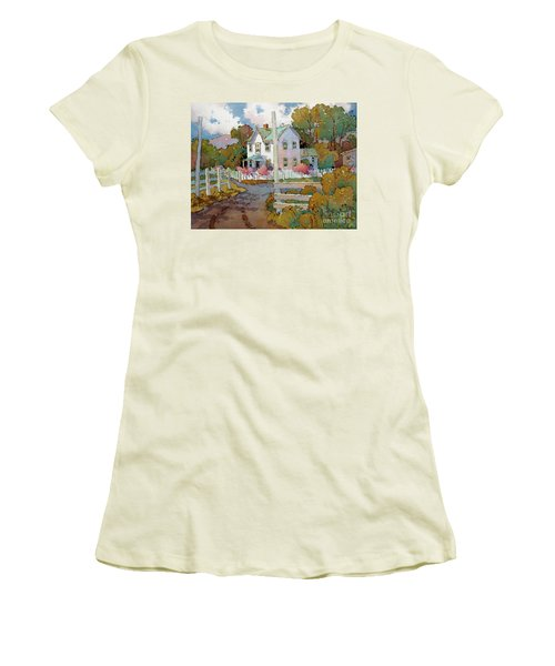 Cambria Farm Women's T-Shirt (Athletic Fit)