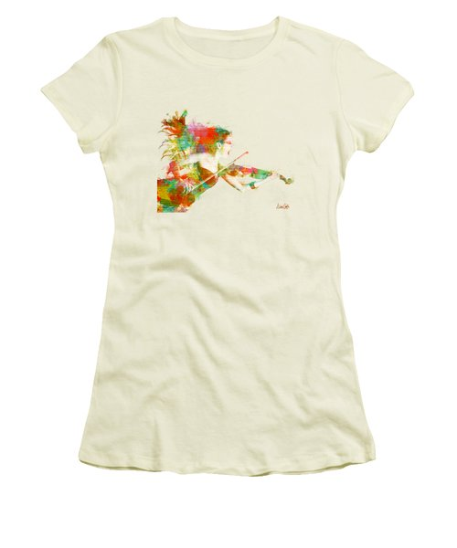Can You Hear Me Now Women's T-Shirt (Junior Cut) by Nikki Smith