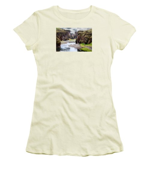 Canyon Vista Women's T-Shirt (Junior Cut) by William Beuther
