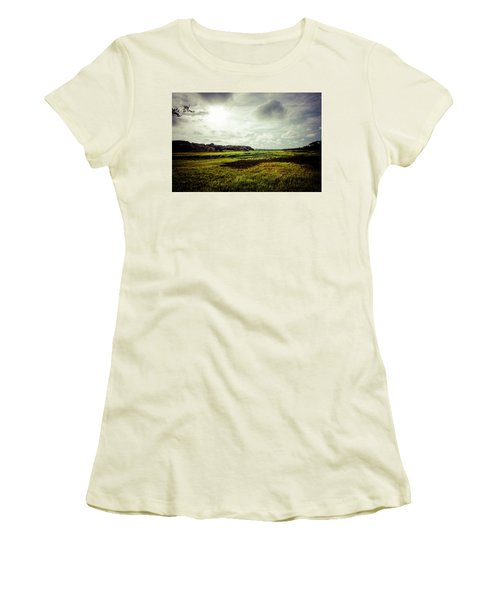 Cape Cod Marsh 1 Women's T-Shirt (Athletic Fit)