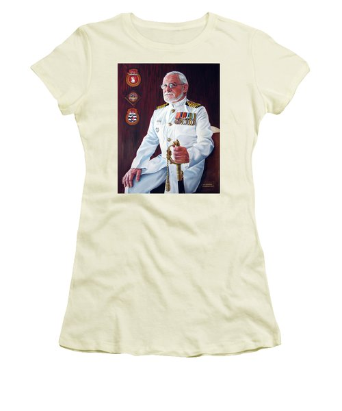 Capt John Lamont Women's T-Shirt (Athletic Fit)