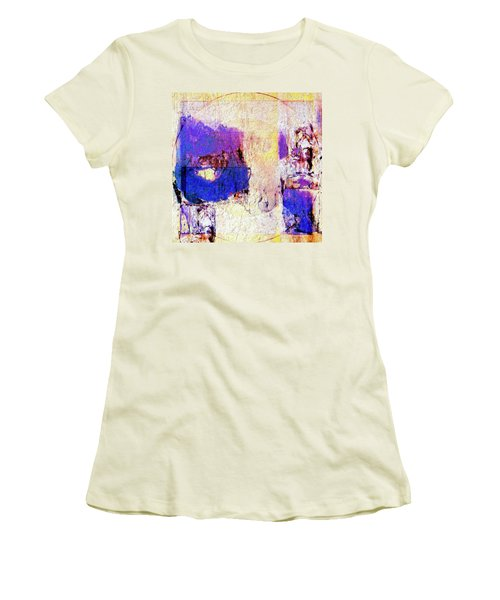 Women's T-Shirt (Junior Cut) featuring the painting Captiva by Dominic Piperata