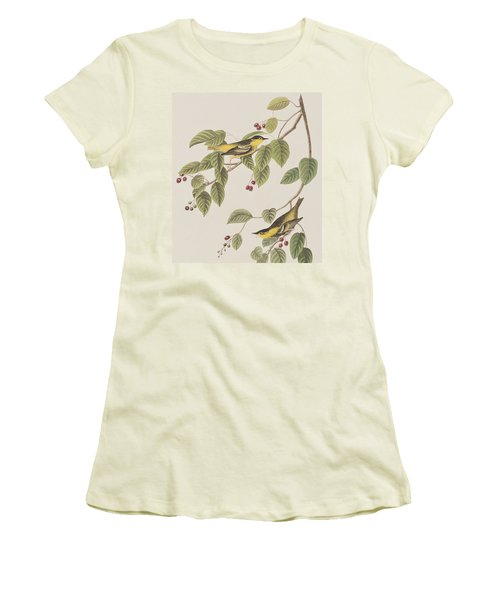 Carbonated Warbler Women's T-Shirt (Athletic Fit)