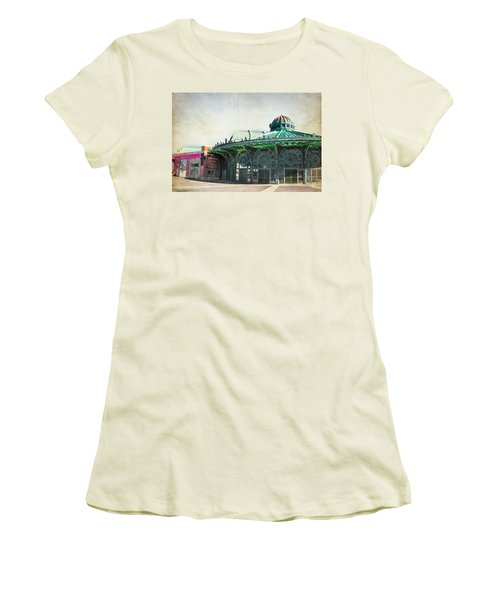 Carousel House At Asbury Park Women's T-Shirt (Athletic Fit)