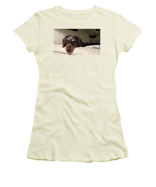 Cassie Women's T-Shirt (Junior Cut) by Judy Wanamaker