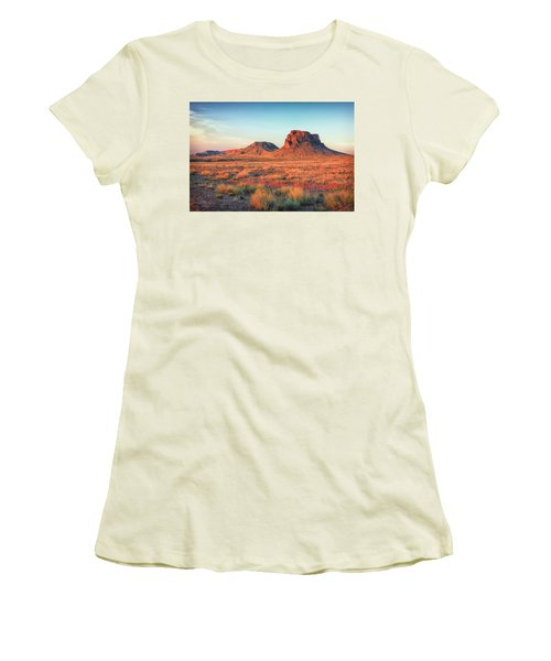 Castle Butte Women's T-Shirt (Athletic Fit)