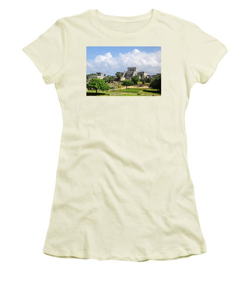 Castle In The Sky Women's T-Shirt (Athletic Fit)