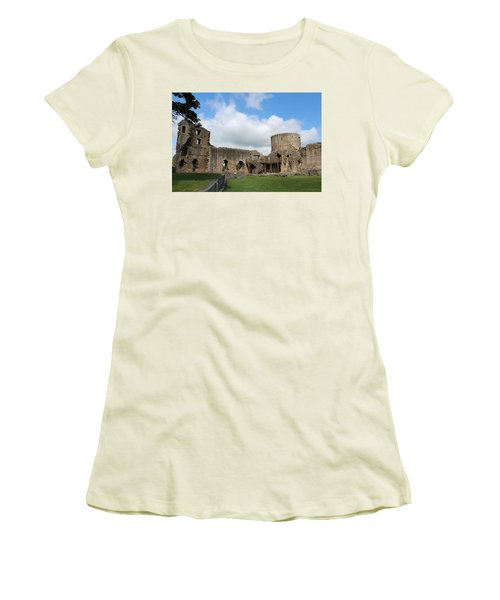 Castle Ruins Women's T-Shirt (Athletic Fit)