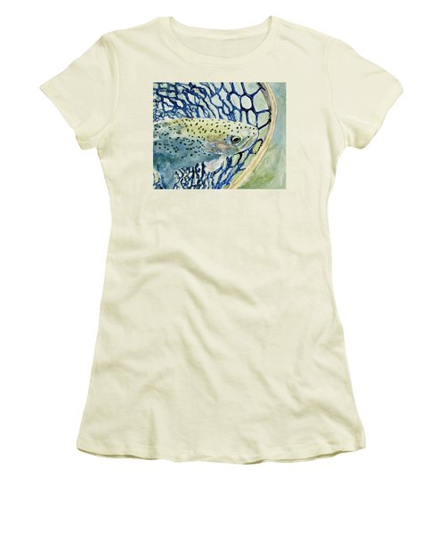 Catch And Release Women's T-Shirt (Athletic Fit)