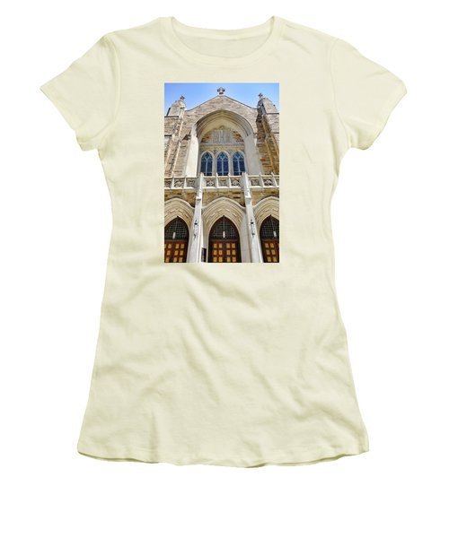 Cathedral Of St John Front Women's T-Shirt (Athletic Fit)