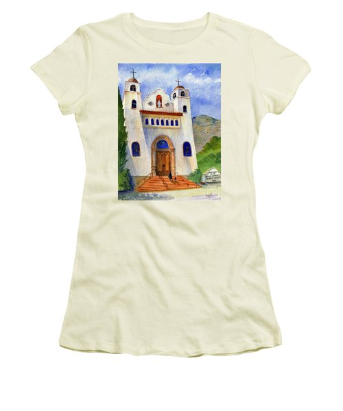 Catholic Church Miami Arizona Women's T-Shirt (Athletic Fit)