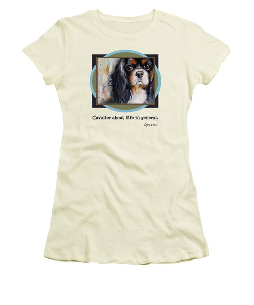 Cavalier About Life  Women's T-Shirt (Athletic Fit)