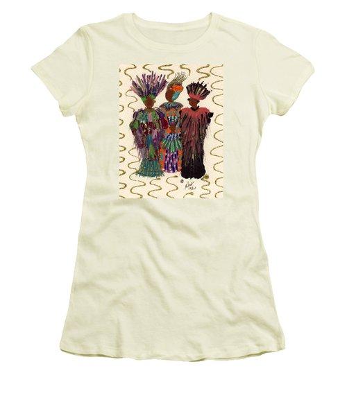 Celebration Women's T-Shirt (Junior Cut) by Angela L Walker