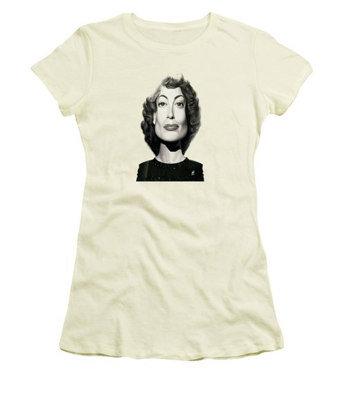 Celebrity Sunday - Joan Crawford Women's T-Shirt (Athletic Fit)