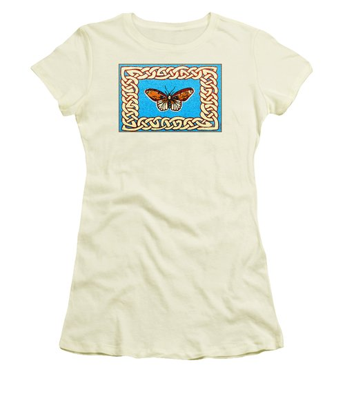 Celtic Butterfly Women's T-Shirt (Athletic Fit)