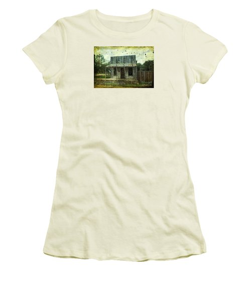Women's T-Shirt (Junior Cut) featuring the photograph Central London - No.1127 by Joe Finney