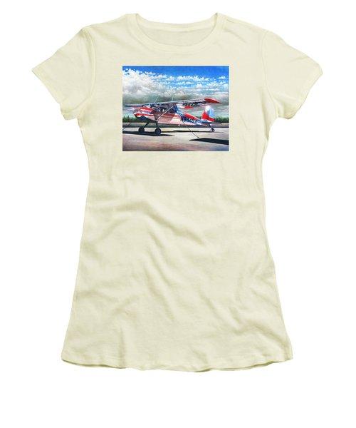 Cessna 140 Women's T-Shirt (Athletic Fit)