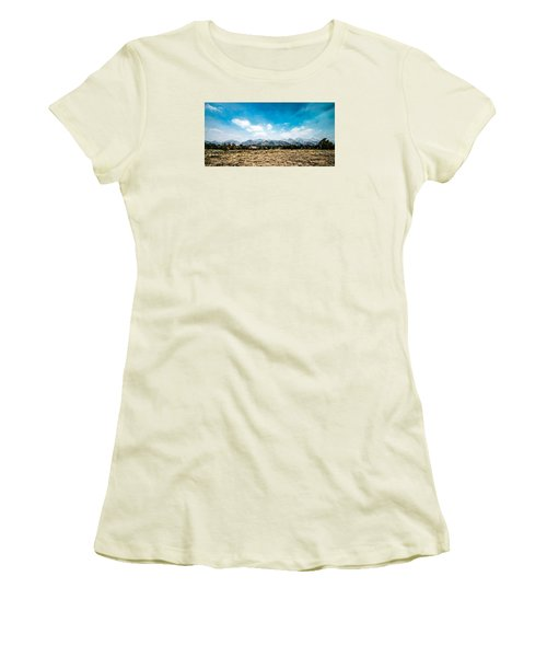 Chapel Of The Transfiguration Women's T-Shirt (Junior Cut) by Cathy Donohoue