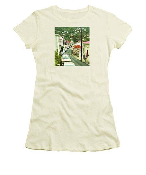 Charlotte Amalie Neighborhood Women's T-Shirt (Athletic Fit)