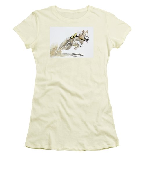 Chasing Rusty Women's T-Shirt (Athletic Fit)