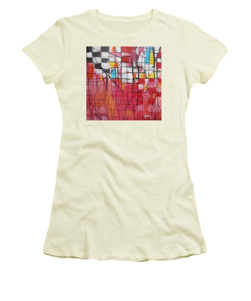 Checkmate Women's T-Shirt (Athletic Fit)