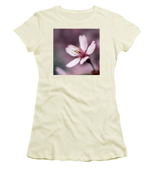 Cherry Blossom Women's T-Shirt (Junior Cut) by Joseph Skompski